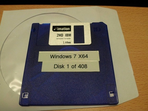 Windows 7 Floppies